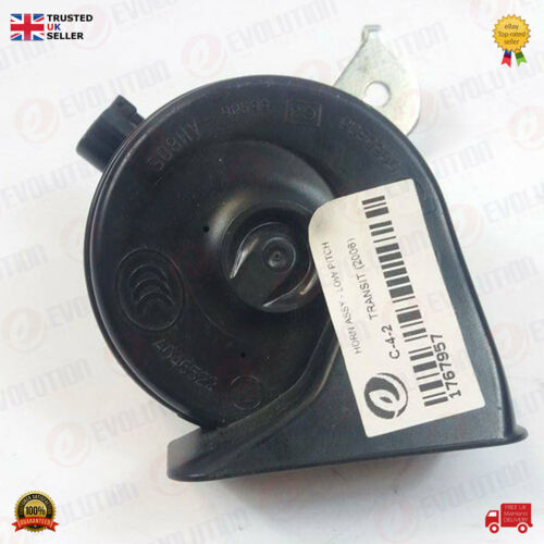 1767957 LOW PITCH 2006 ONWARD OEM FORD TRANSIT CONNECT HORN ASSY