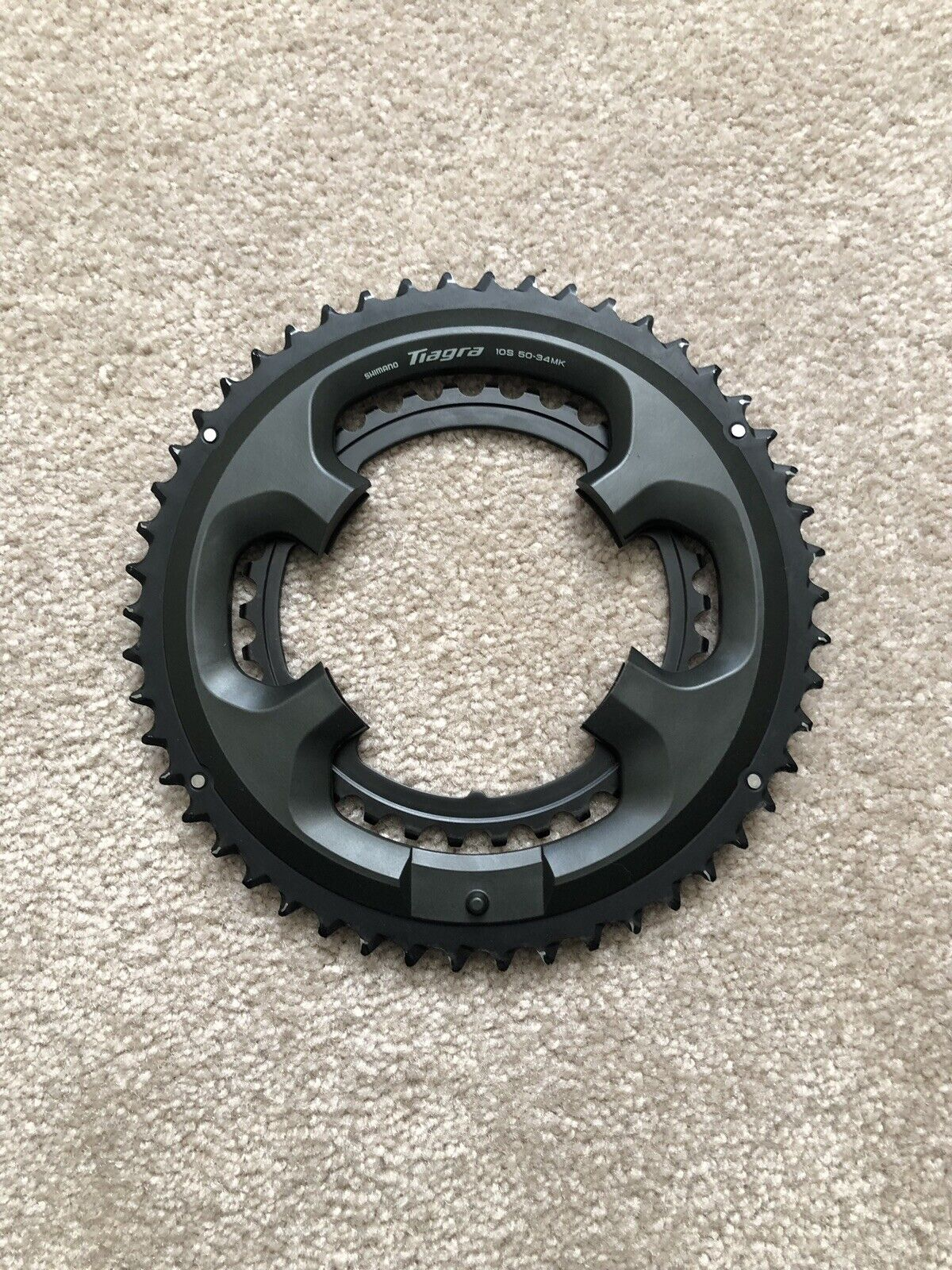 Shimano Tiagra Compact 50 34 Hollowtech II Crank Chainrings Fit 105 Road Tri TT