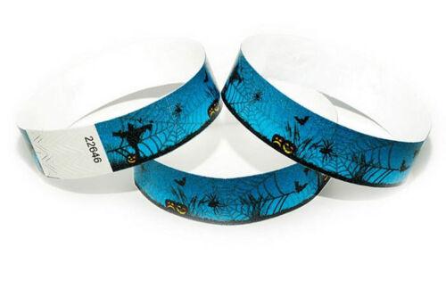 Bracelets évenementiels Wristbands SCARECROWS 100 Tyvek-Bänder HALLOWEEN
