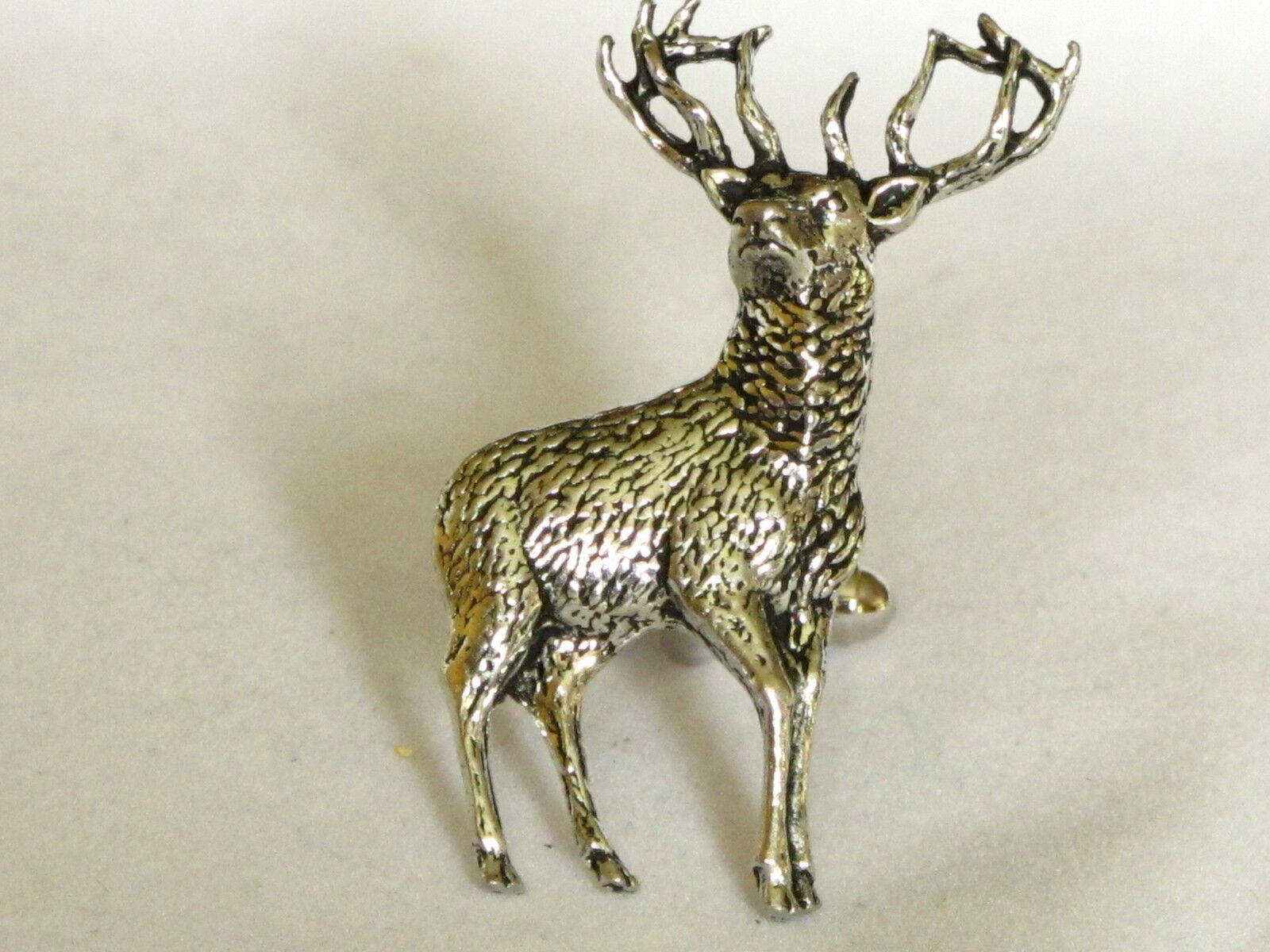 Full Stag Deer Hunting Large Fine  Pewter Cufflinks Gift Mens Jewellery Boxed  for cheap