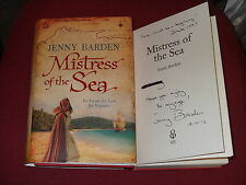 *Signed & dated* JENNY BARDEN 'Mistress of the Sea' HB 1st VGC (Drake Cooksley)