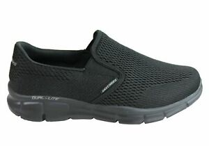 NEW-SKECHERS-MENS-EQUALIZER-DOUBLE-PLAY-WIDE-FIT-MEMORY-FOAM-CASUAL-SHOES