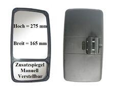 Außenspiegel Ersatz Spiegel Mercedes Bus VW Iveco MB 275x165 ø16-24 Li 12V 24V