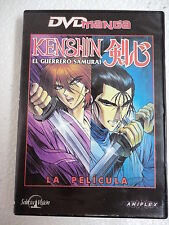 DVD Anime Manga Kenshin,El Guerrero Samuarai,La Pelicula