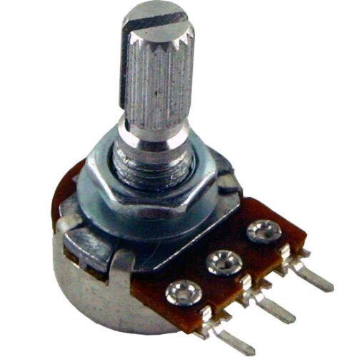 Marshall amp potentiometer 16mm 100k linear PC mount