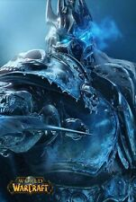 POSTER WORLD OF WARCRAFT WOW FROSTMOURNE LICH KING ILLIDAN VIDEOGAME FANTASY #1