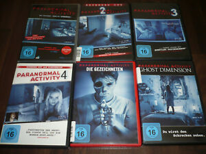 DVD-Paranormal-Activity-1-6-1-2-3-4-5-6-1-2-3-4-5-6-Gezeichneten-Ghost-Dimension