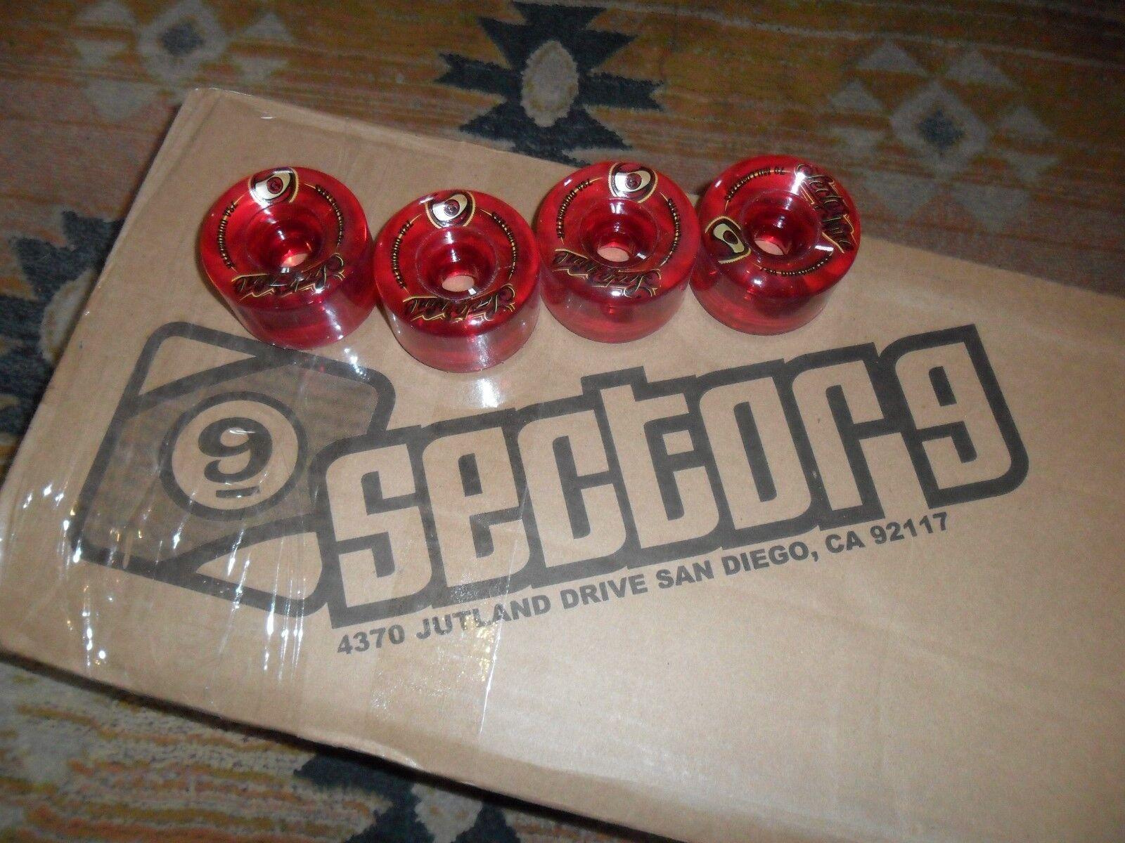 BRAND NEW QUALITY SECTOR 9 top shelf 9 balls LONGBOARD CRUISER WHEELS 70 X 45MM