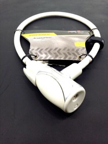 Kryptonite Kryptoflex 1265 clés câble de verrouillage 2.12/' x 12 mm blanc