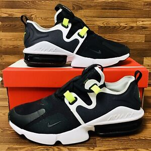 Details about Nike Air Max Infinity (Men's Size 8.5) Running Shoes Grey  Black White Sneakers