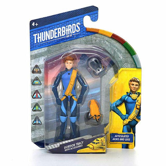 "THUNDERBIRDS ARE GO 3.75/"" ACTION FIGURE-JOHN GORDON ALAN VIRGIL MAX /& BRAINS"