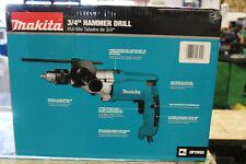 New Makita Hammer Drill Torque 34 In Corded Limiter Side Handle Depth Gauge