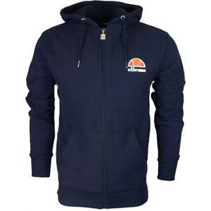 Ellesse-Miletto-Cotton-Hooded-Full-Zip-Navy-Hoodie