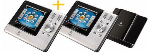 LOT 2/_/_Logitech Harmony 1000 Advanced Touch Screen LCD Universal Remote Control
