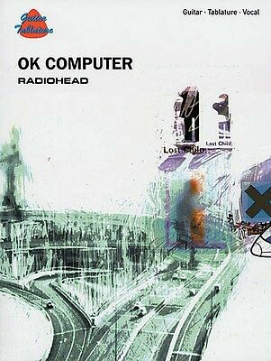 Radiohead OK Computer Sheet Music Guitar Tablature Book NEW 000699466