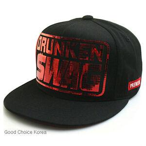 4f417e3ea66 Details about New DRUNKEN SWAG Snapback Hat KPOP Men Women Fashion Baseball  Hiphop Running Cap