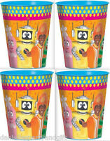 Yo Gabba Gabba 16 Ounce Keepsake Plastic Favor Cup (package Of 4) - 425042