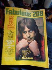 FABULOUS 208 30/5/1970 GEORGE BEST ALAN JONES JACK WILD STUART DAMON JACK LORD