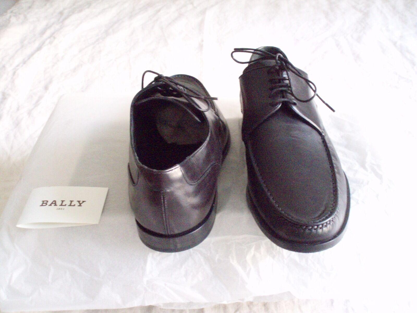 Schwarzer Halbschuh von Bally, Größe Größe Größe 42,5 (fällt aus wie 43) aus Lamm Nappa, neu 21a5d5