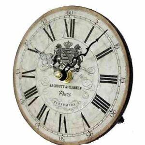 Vintage effetto anticato tavolo scrivania orologio bel for Arredamento regalo