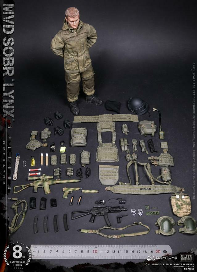 12  Spetsnaz Spetsnaz Spetsnaz RUSSI MVD-SOBR Lynx delle forze specialeeei 1 6 DAMgiocattoli 78059 cifra bambola c20d4c