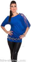 Vêtements Femme / Fille T-shirt Ample Bleu / Fashion / Taille Unique : 34 36 38