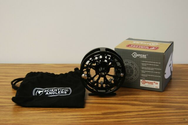 Scientific Anglers Ampere IV Electron Reel Line Weight 7-9 Large Arbor New