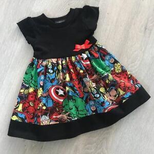 a7a259531 Marvel  Avengers Baby Dress