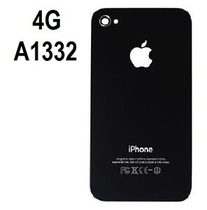 Replacement-Rear-Glass-Back-Cover-Battery-Door-For-iPhone-4G-A1332-Black-USA