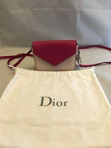 Christian-Dior-Diorissimo-Promenade-Envelope-Pouch-Cross-Body-Shoulder-Bag