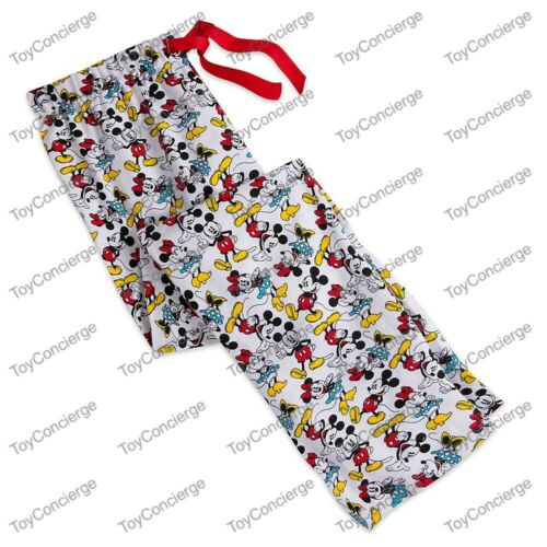 DISNEY Store LOUNGE PANTS for Women MICKEY and MINNIE Mouse PICK Size NWT