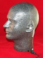Surveillance Earphone fbi Style, 2.5mm Plug With Semi-custom Ear Molds Package