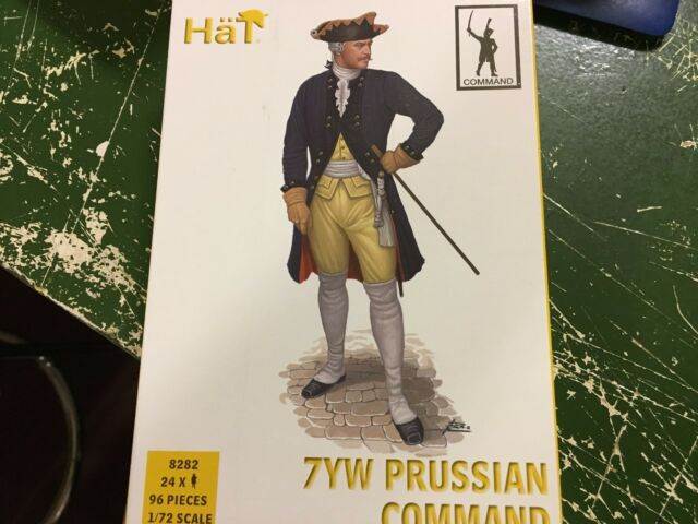 Hat 1//72 8282 7YW Prussian Infantry Command Seven Years War
