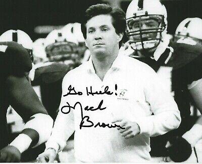 MACK BROWN Signed 8 x 10 Photo NORTH CAROLINA TAR HEELS Football Coach GO HEELS! | eBay