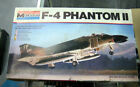 Monogram 1979 F-4 Phantom II Jet Fighter Airplane 5800 Model Kit
