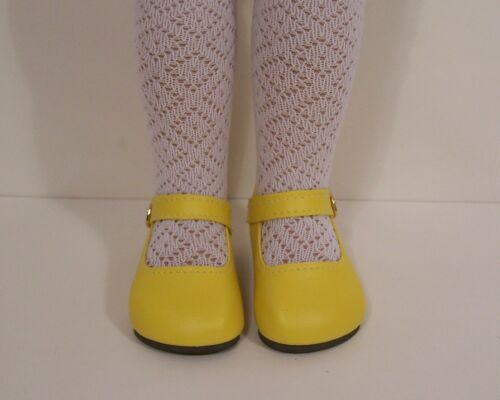 """Debs BRIGHT YELLOW Basic SM Doll Shoes For Sonja Hartmann 18/"""" Kidz n Cats"""