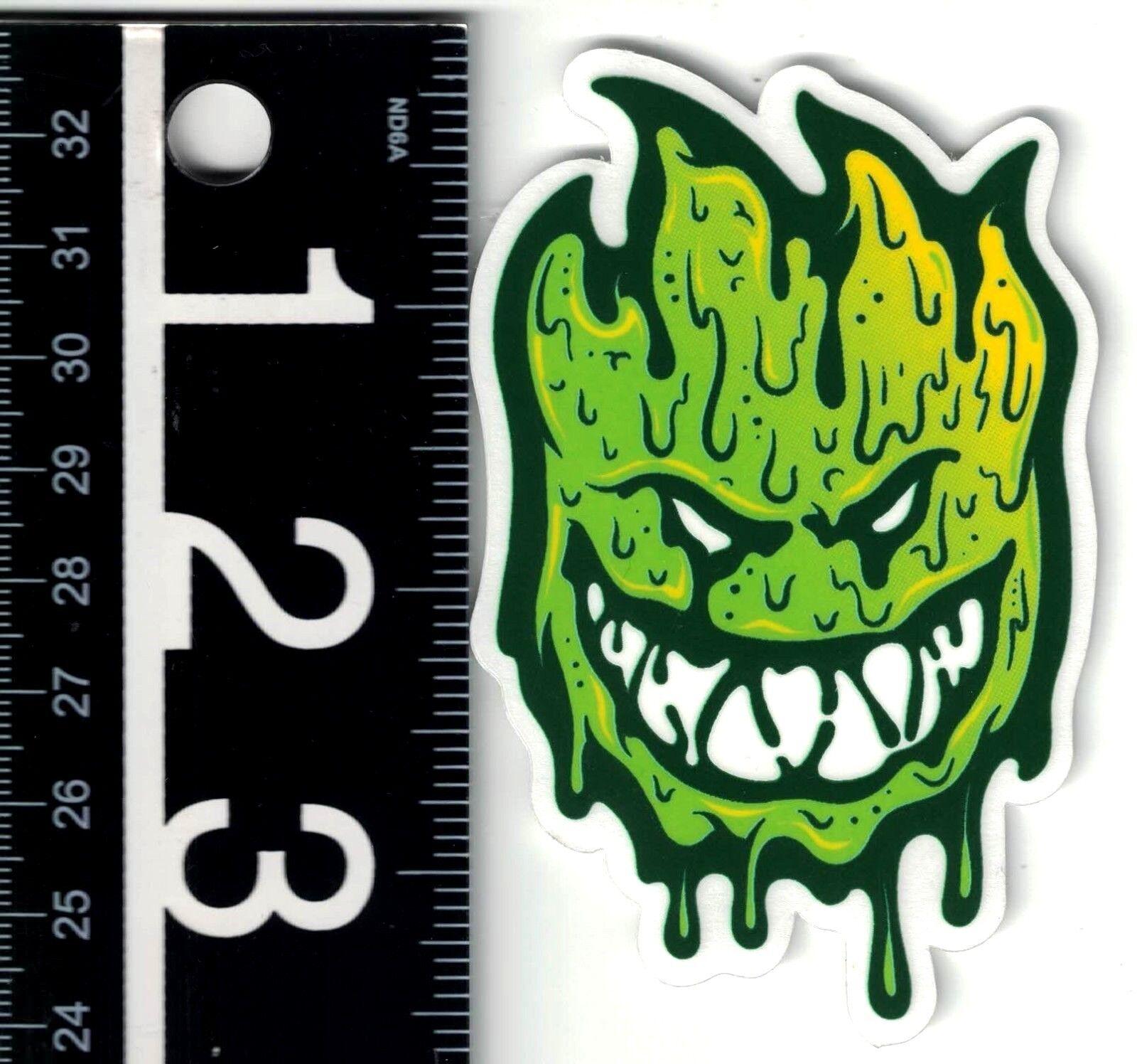 "SPITFIRE Toxic Apocalypse Fireball Skate Sticker 4X6/"" skateboards helmets decal"