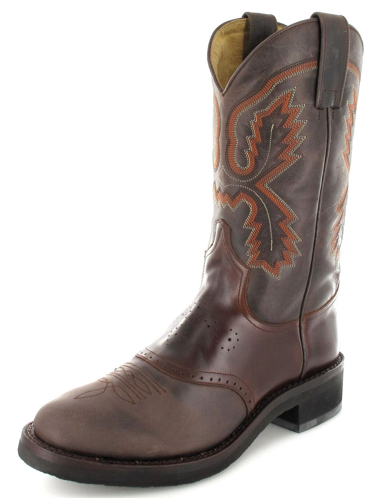 Sendra Stiefel 5357 Chocolate Mens Western Riding Stiefel braun Leather Stiefel