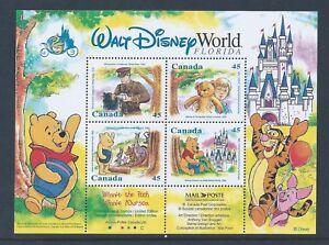 Canada-Winnie-The-Pooh-1621b-Souvenir-Sheet-Free-Shipping