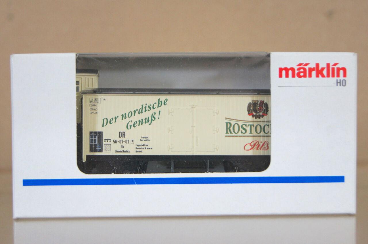 MARKLIN MäRKLIN 4680 G0044 SONDERmodelloloL DR ROSTOCK PILS Bremsehaus BIERWAGEN nc