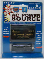 Samlex Si-50hp 50 Watt Dc To Ac Voltage Converter W/cig Plug Free Shipping