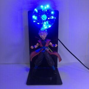Anime-Dragon-Ball-Z-Goku-Fils-Gokou-Figure-Figurine-Statue-15-034-Lumiere-DEL-A-faire-soi-meme-lampe