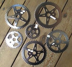 NEW STEEL BICYCLE SPROCKET CHAINRING 1//2X1//8X44T CRUISER BMX LOWRIDER BICYCLES