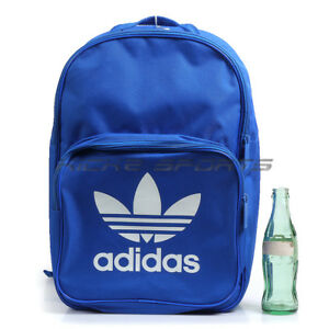 9a0a6b8633 Image is loading Adidas-Originals-BP-Classic-Trefoil-Backpack-amp-BookBag-