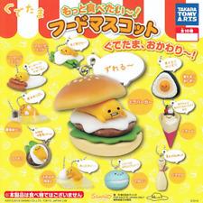 Takara TOMY A.R.T.S Sanrio Gudetama Strange Pose Figure Mascot Swing Set  of  5