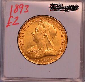 1893 Two Pound Victoria