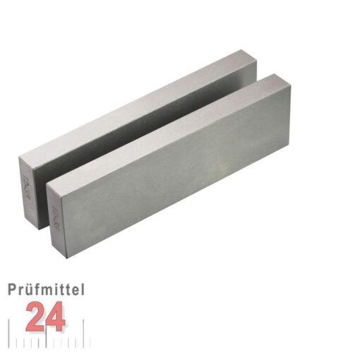 Parallelunterlagen Fräsunterlagen 125 mm Paar 8x11x125  Deutscher Hersteller