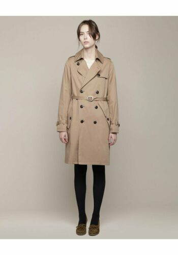 A.P.C. New Classic Double Breasted Trench Coat in