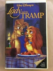Walt Disney S Lady And The Tramp 1955 Vhs Original Home Video Release Ebay