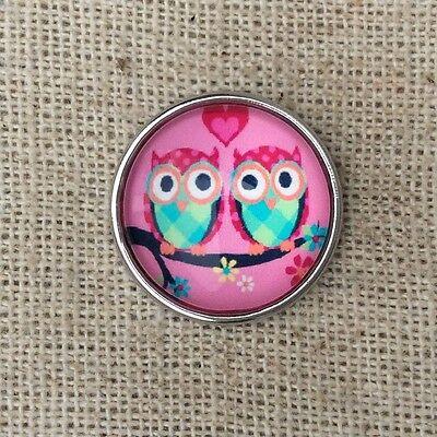 3D Crystal Chunk Charm Snap Button Fit For Noosa Necklace//Bracelet  NSKZ47
